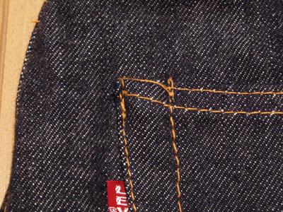 LEVI'S501XX VINTAGE/雑な縫製
