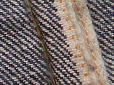 ウエアハウス: old lee:耳の縫製