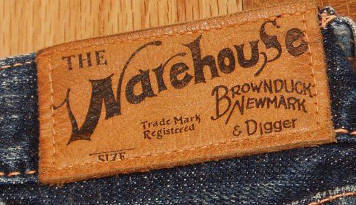 WAREHOUSE(ウエアハウス)DUCKDIGGER(ダックディガー) 1930の色落ち