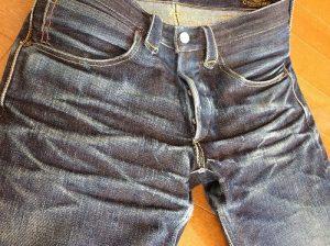 私、自慢のジーンズです。
