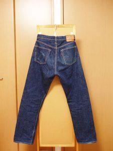 WAREHOUSE(ウエアハウス)1003XXジーンズの色落ち
