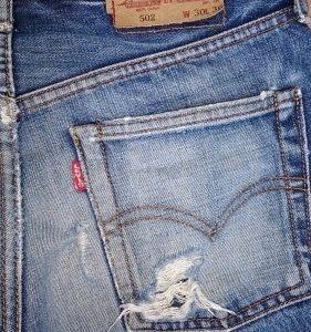 初めて根性穿きしたジーンズ