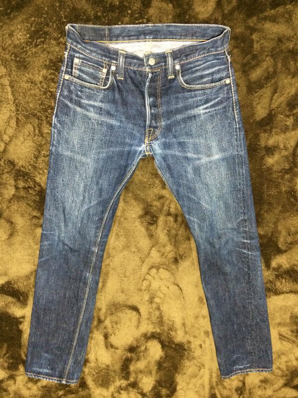 初穿き込みジーンズ(PBJ XX-013)
