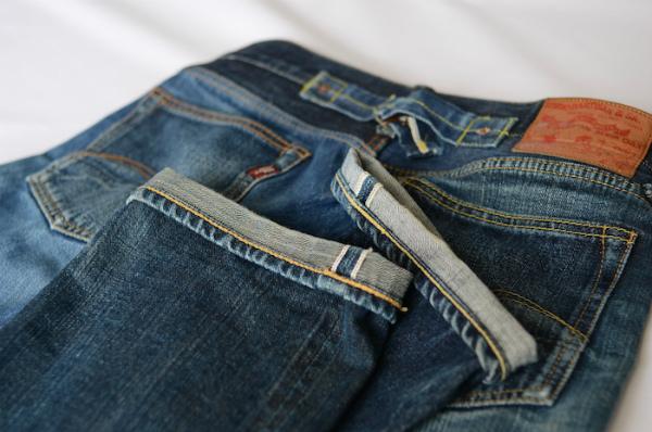 私がデニム好きになったきっかけのジーンズです