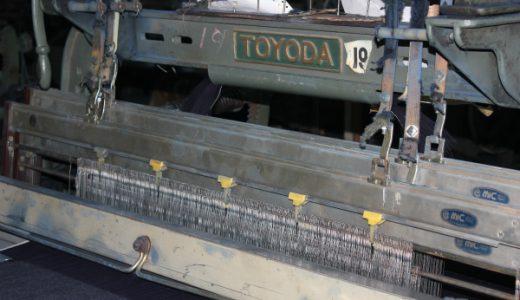 デニムを織る工場の見学に行ってきた。