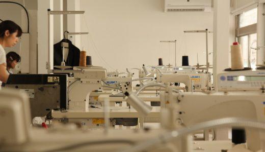 できたてホヤホヤの、ジーンズが縫えるサンプル縫製工場に行ってきた