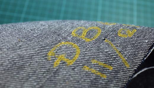 オリジナルデニムの織り上がり